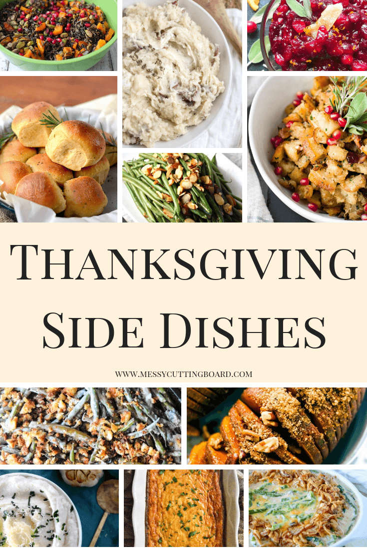 Thanksgiving Side Dishes Pin