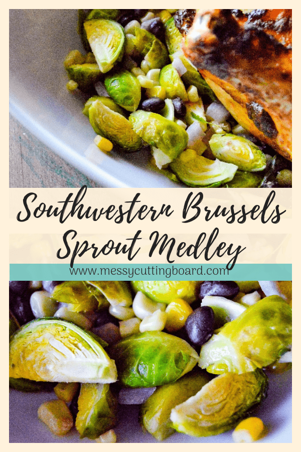 Southwestern Brussels Sprout Medley Pin