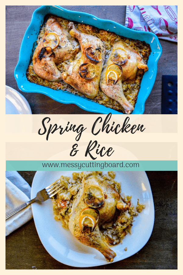 Spring Chicken and Rice Pin