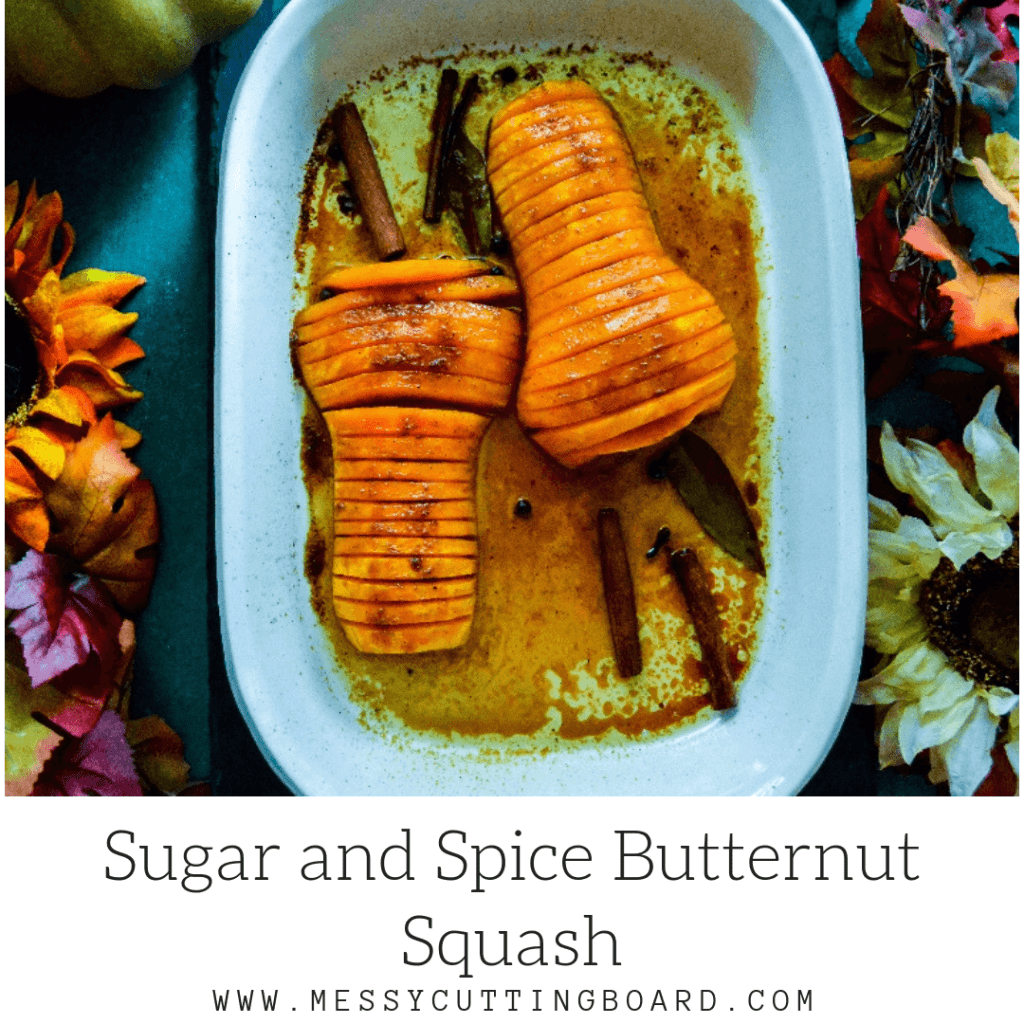 Sugar and Spice Butternut Squash Feature Recipe