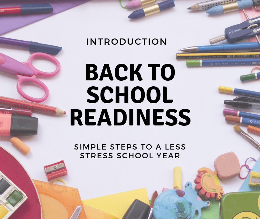 Back to School Readiness Title/Feature
