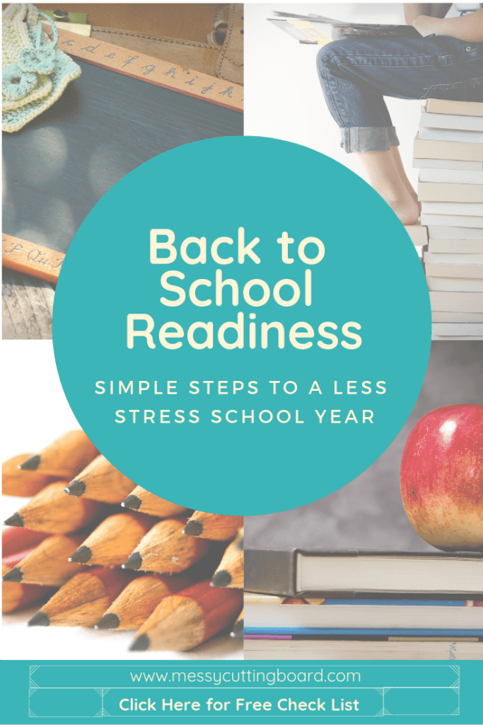 Back to School Readiness Pin