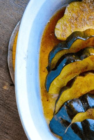 Cinnamon and Brown Sugar Squash Feature