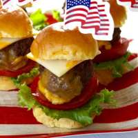 Stuffed Cheeseburger Sliders with Burger Sauce grill or make in your oven!