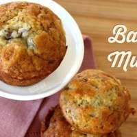 Easy Banana Muffins Recipe (Works for Banana Bread too)