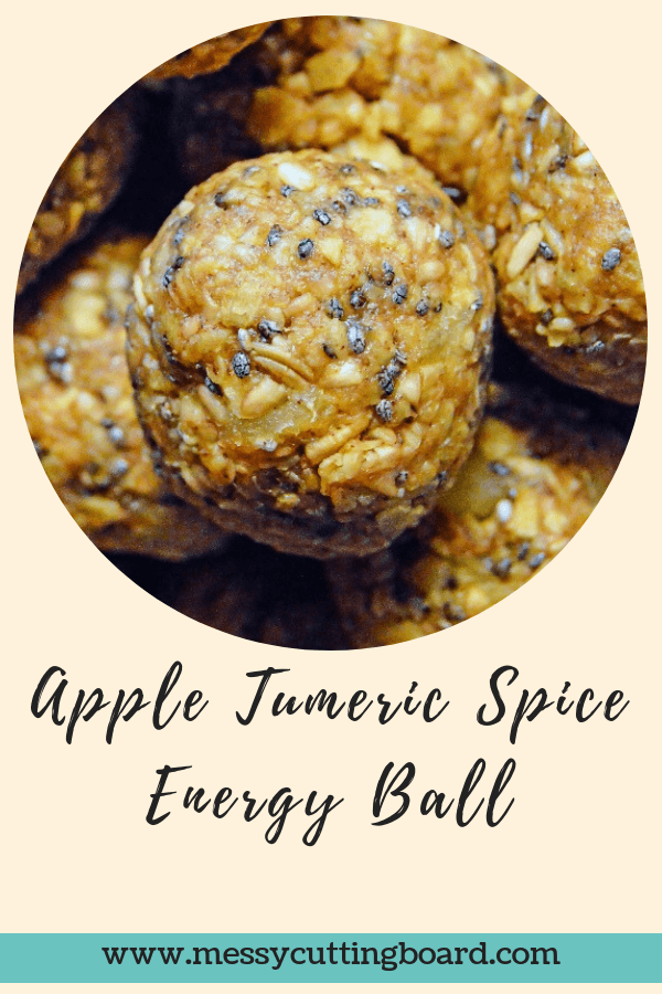 Title Apple Turmeric Spice Energy Balls
