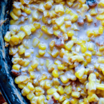 featured for chili Bacon Creamed Corn