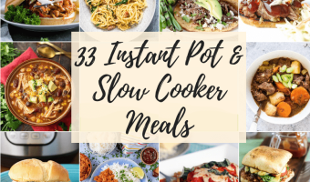 Feature Image for Instant Pot Meal Recipes