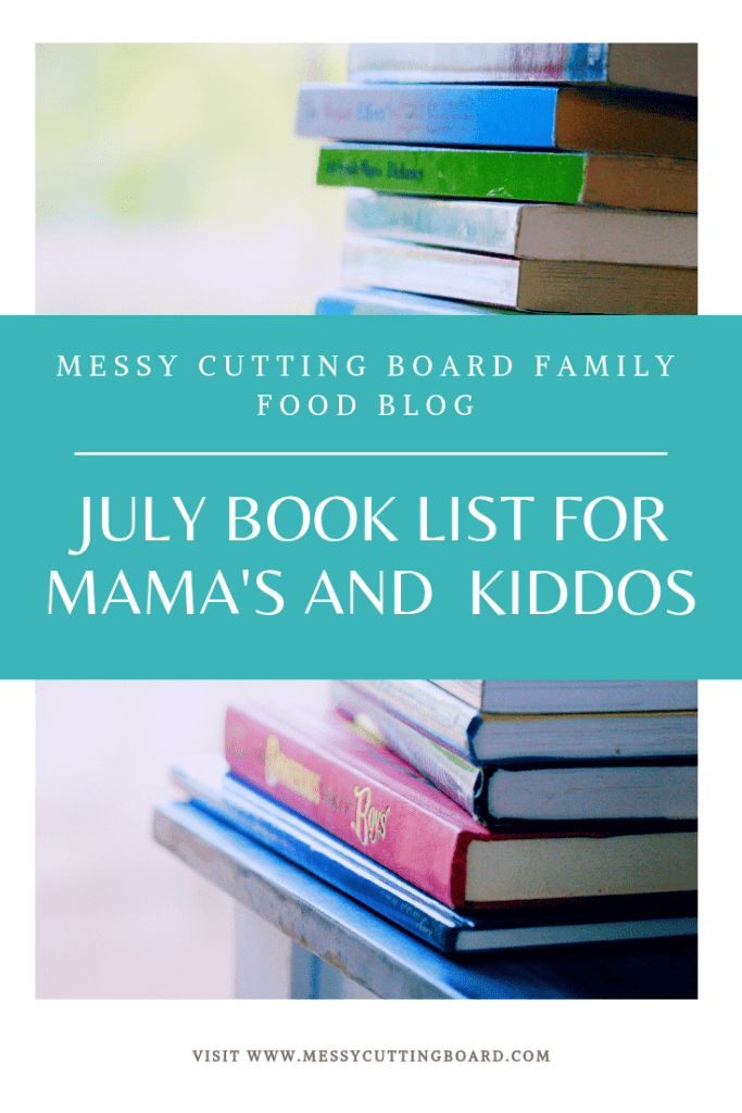Pinnable image for July Book List