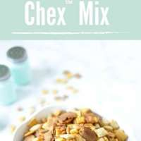 Original Oven Baked Homemade Chex Mix ~ Crafting a Family