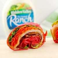 The 5 Minute Turkey Club Ranch Wrap