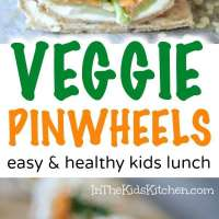 Healthy Veggie Pinwheels