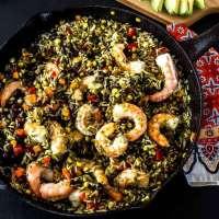 Mexican Arroz con Camarones (Rice and Shrimp)