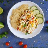 Confetti Tuna Salad (Mayo Free Option)