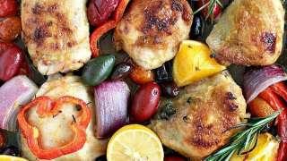 One Pan Mediterranean Chicken