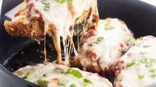 Low Carb Keto Chicken Parmesan Recipe