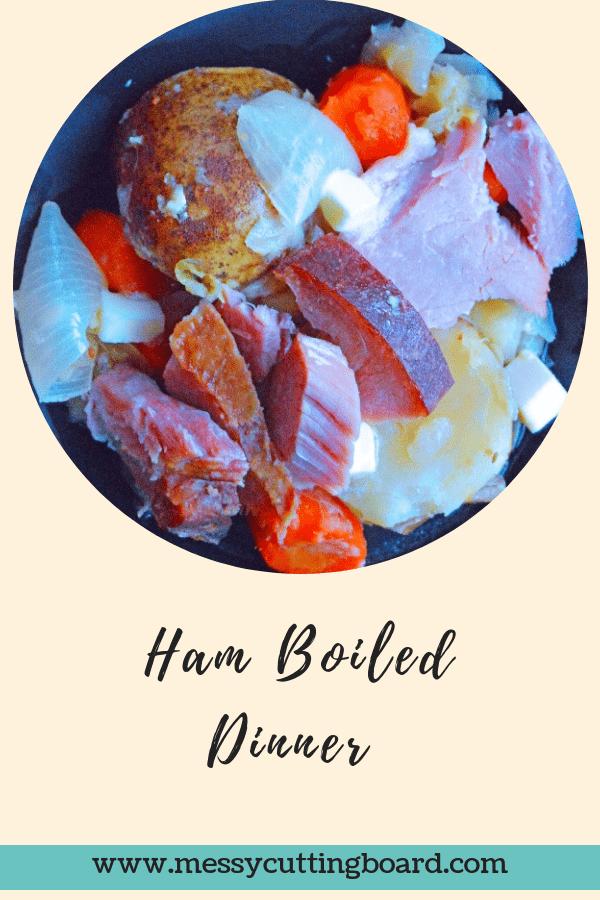 Title Boiled Ham Dinner