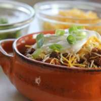 Healthy Turkey Chili (Slow Cooker)