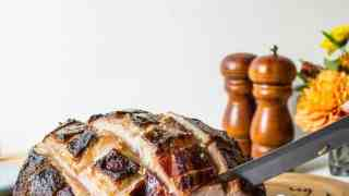Baked Ham with Citrus Glaze