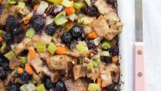 Blueberry Thanksgiving Stuffing