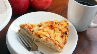 Harvest Almond and Apple Pie