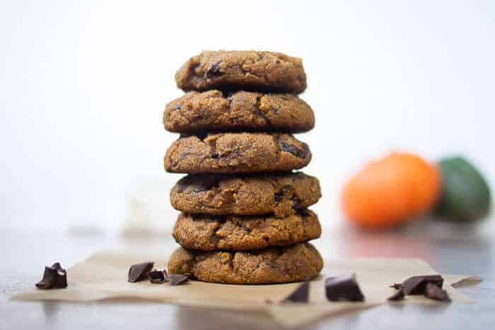 Healthy Soft Pumpkin Cookies | Vegan GF Paleo