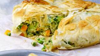 Healthy Vegetarian Pot Pie • Happy Kitchen