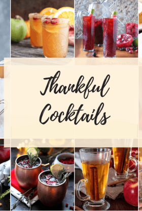 Feature Thankful Cocktails
