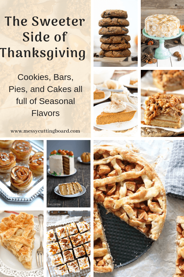 Pinnable for the Sweeter Side of Thanksgiving