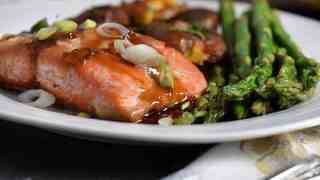 Soy Maple Glazed Salmon | No fishy taste!