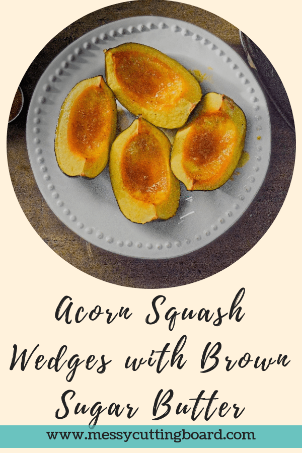 Title Acorn Squash Wedges with Brown Sugar Butter