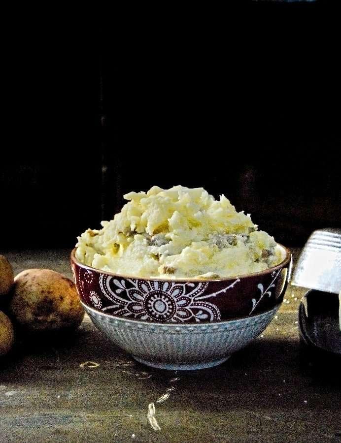 Full Bowl Buttery Golden Potatoes