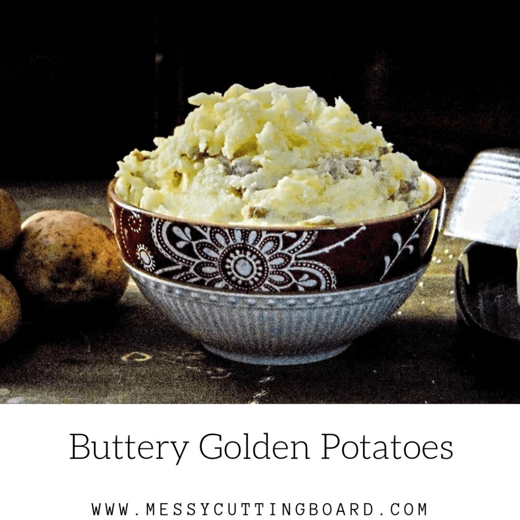 Buttery Golden Potatoes Feature