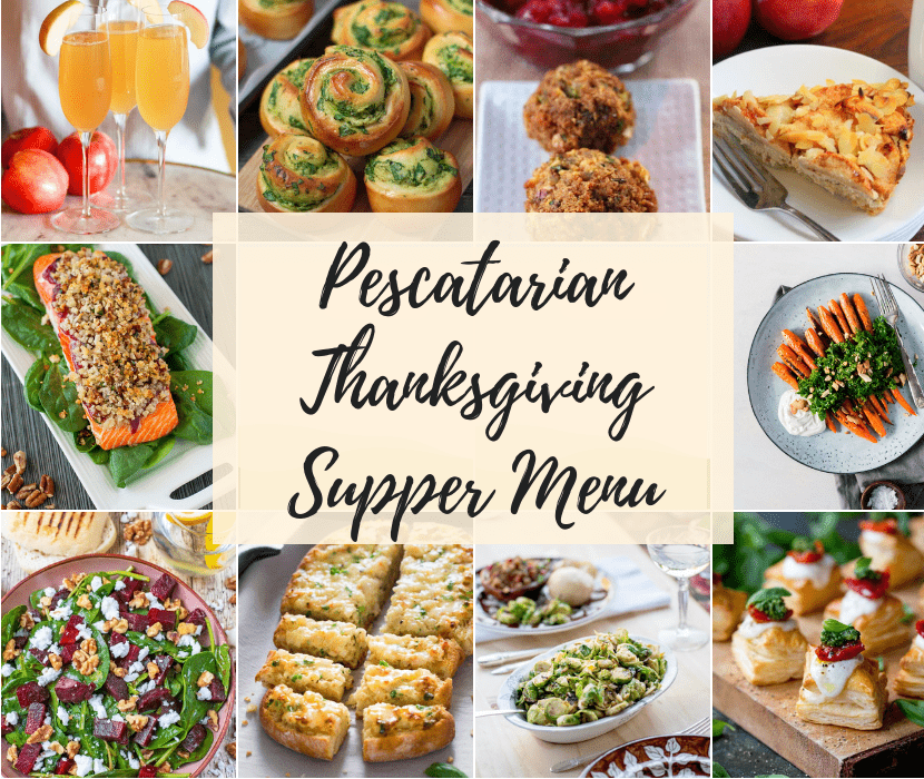 Feature image Pescatarian Thanksgiving Supper Menu
