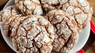 Chocolate Crinkle Top Cookies Recipe for Christmas