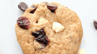 Santa Will Love These: Cranberry Chocolate Chip Cookies