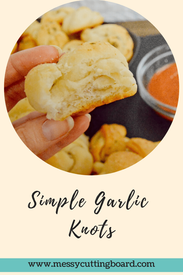 Title for simple garlic knots