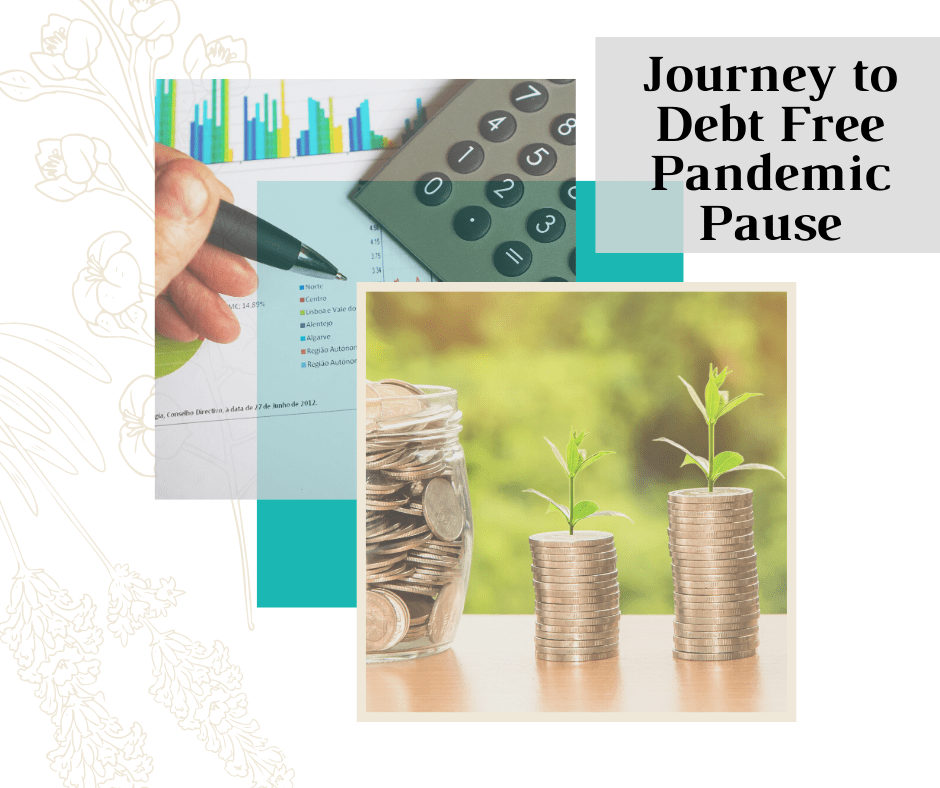 Title page for Pandemic Pause to Becoming Debt-Free