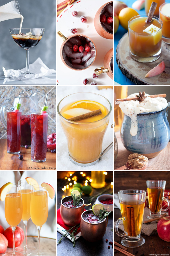 Sneak Peak at Autumn and Thanksgiving Cocktails Recipe Collection