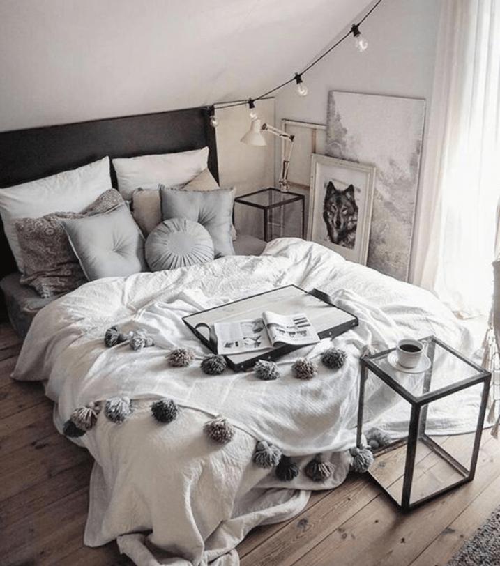 Hygge bedroom