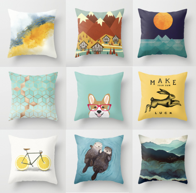 Throw-Pillows-Colorful-Minimalist-Home