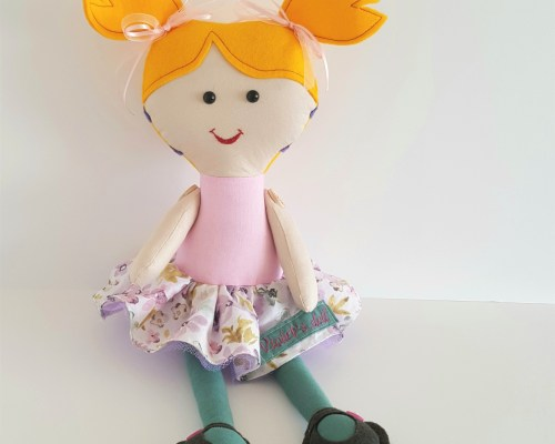 Personalised Doll with Cochlear Implants