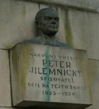 Pamätná tabuľa Petra Jilemnického