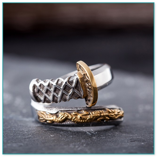Titan Oder Edelstahl Ring