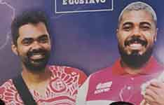 Mestre Guilerme and Mestre Gustavo