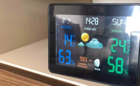 Evdeki meteoroloji uzmanı | TS-71 Weather Station