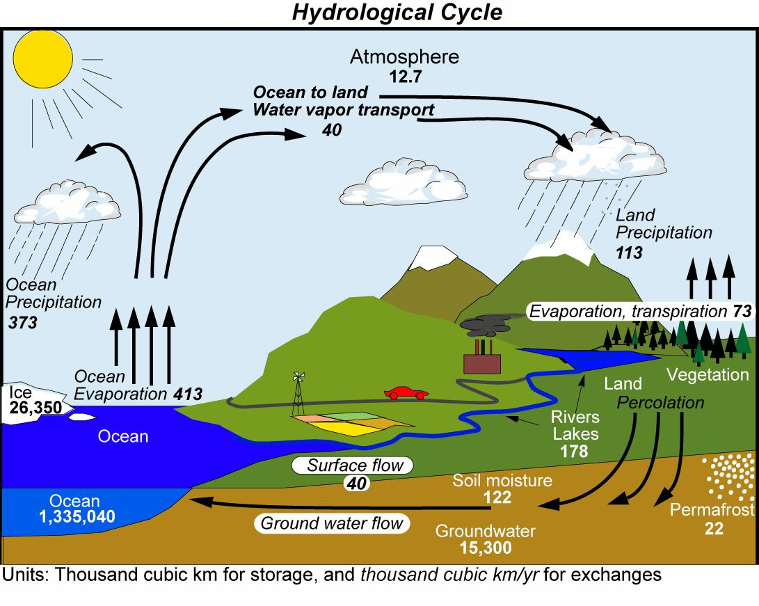 water cycle diagram with explanation software to make er dept of meteorology university reading