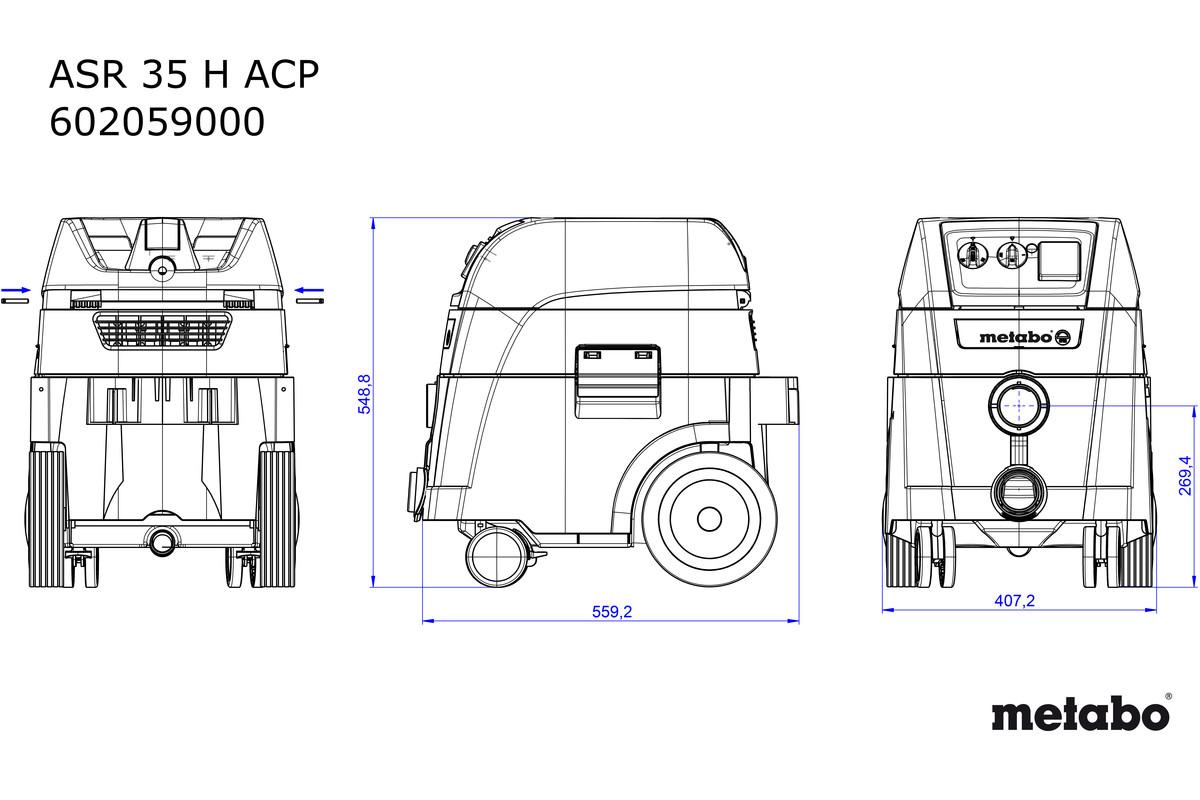 ASR 35 H ACP (602059000) All-purpose Vacuum Cleaner