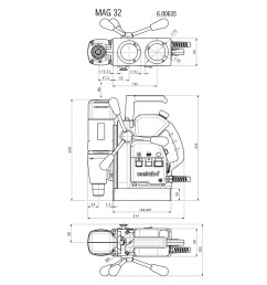 metabo wiring diagram wiring diagram detailed respiration diagram mag 32 600635500 magnetic core drill [ 1200 x 800 Pixel ]