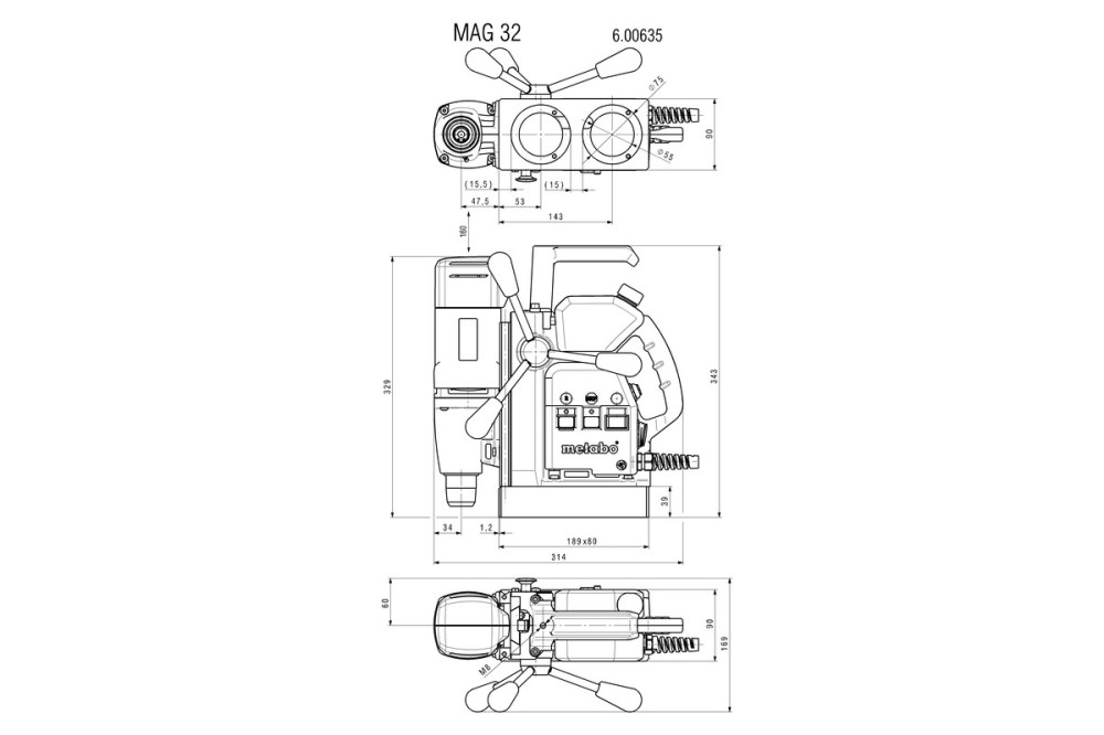 medium resolution of metabo wiring diagram wiring diagram detailed respiration diagram mag 32 600635500 magnetic core drill